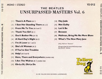 Rock Anthology: The Beatles - Unsurpassed Masters vol 6