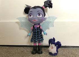 Vampirina doll and wolfie