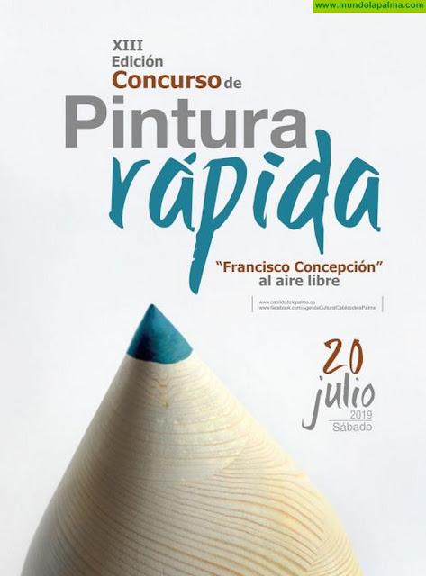 El Cabildo convoca el Concurso de Pintura Rápida al Aire Libre Francisco Concepción