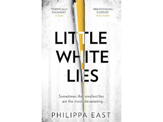 The cover of Little White Lies by Philippa East. The Writer's Pet interview about East's writing and her cat