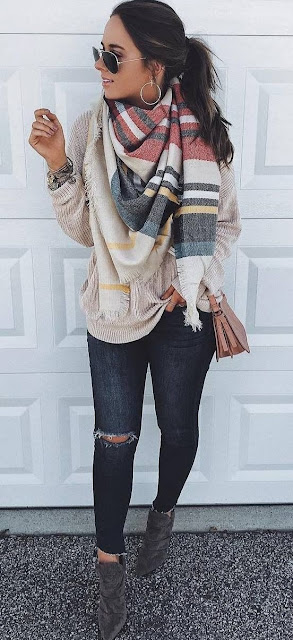 41 Cute and Comfy Fall Winter Outfit Inspirations