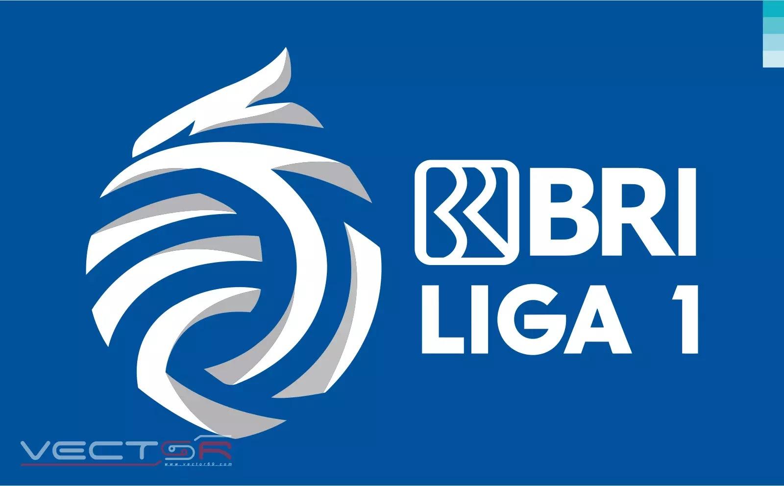 BRI Liga 1 Indonesia Secondary Logo - Download Vector File SVG (Scalable Vector Graphics)