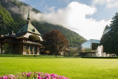 Казино Курзааль Kursaal Interlaken (Congress Centre Kursaal)