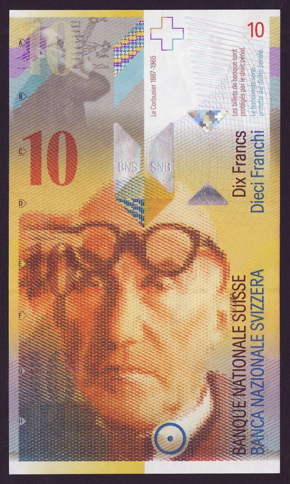 Switzerland Banknotes 10 Swiss Francs note