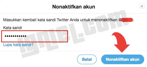 Deaktivasi Akun Twitter Sementara Atau Permanen Selamanya Dari Android