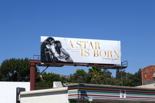 A Star is Born film billboard