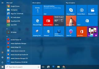 Cara Ampuh Mengatasi Start Menu Windows 10 Tidak Bisa di Klik