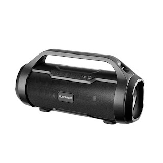 Caixa De Som Bluetooth Super Bazooka Multilaser SP339 180W