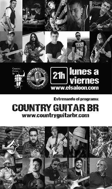 Country Guitar Br en El Saloon Radio.