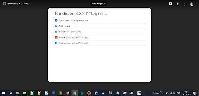 Bandicam yang saya dapatkan dari Kuyhaa Android19 (work 100%)