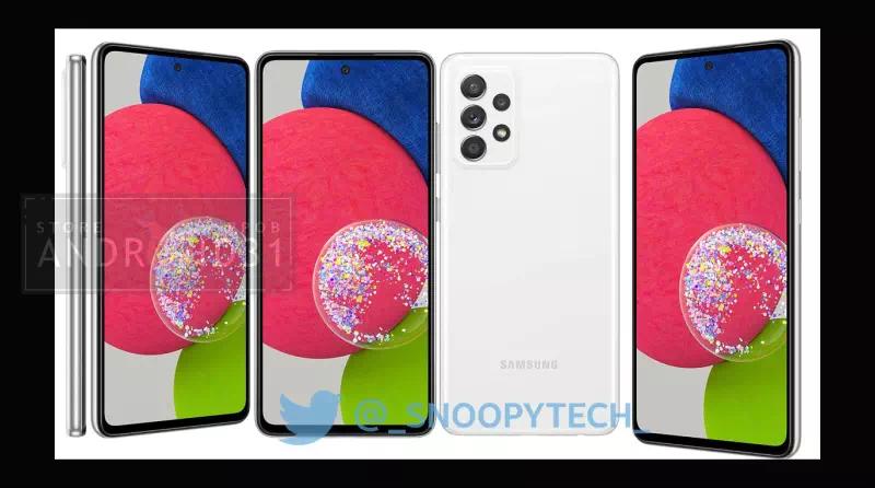 Samsung Galaxy A52s White