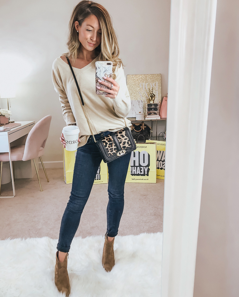 nordstrom dreamers by debut exposed seam sweater