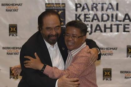 Pecah Kongsi, Politik Pepentingan di Balik Peluk-pelukan Nasdem-PKS