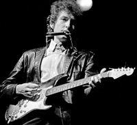 Fender Strat Bob Dylan