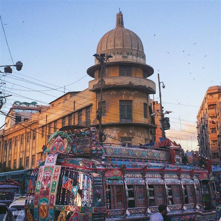 essay on my city karachi for kids
