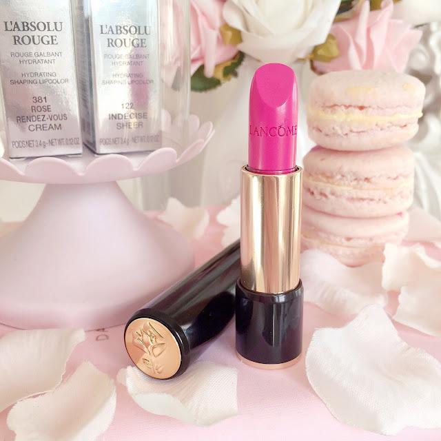 Lancome L'Absolu Rouge Lipstick | 318 Rose Rendez-Vous