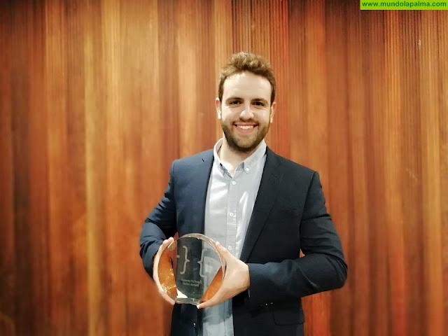 Jorge Hernández, participante de isLABentura, gana un premio en 'Conecta Fiction' por su serie de televisión ambientada en La Palma