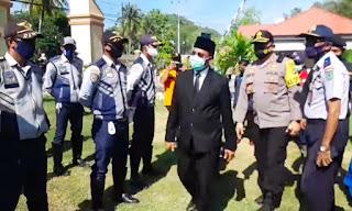 Wakil Walikota Bima Pimpin Apel Kesiapsiagaan Penanggulangan Bencana Alam
