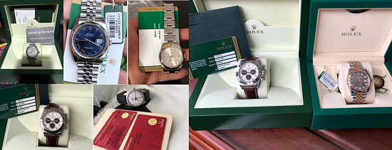 Gọi 0973333330 Thu mua đồng hồ cũ chính hãng - rolex - patek philippe - hublot - richard mille - cho