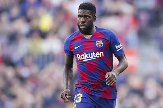 Lyon confirms interest in Barcelona center back Umtiti but looking at the financial possibility