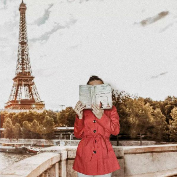"""Bibliotekarka z Paryża"" - Janet Skeslien Charles"