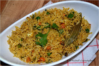 SUBZ PULAO (VEGETABLE RICE) NO ONION NO GARLIC PULAO- LEFT OVER RICE RECIPES