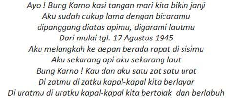 Kumpulan Puisi Kemerdekaan dan Perjuangan Karya Chairil Anwar Terbaru 2016