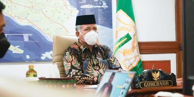 Gubernur Nova Buka Workshop Tantangan Media Perkuat Literasi Keuangan Syariah