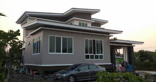 Model Desain Rumah Minimalis 3 Kamar Tidur 2 kamar Mandi