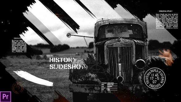 Videohive - History Slideshow - 21933054