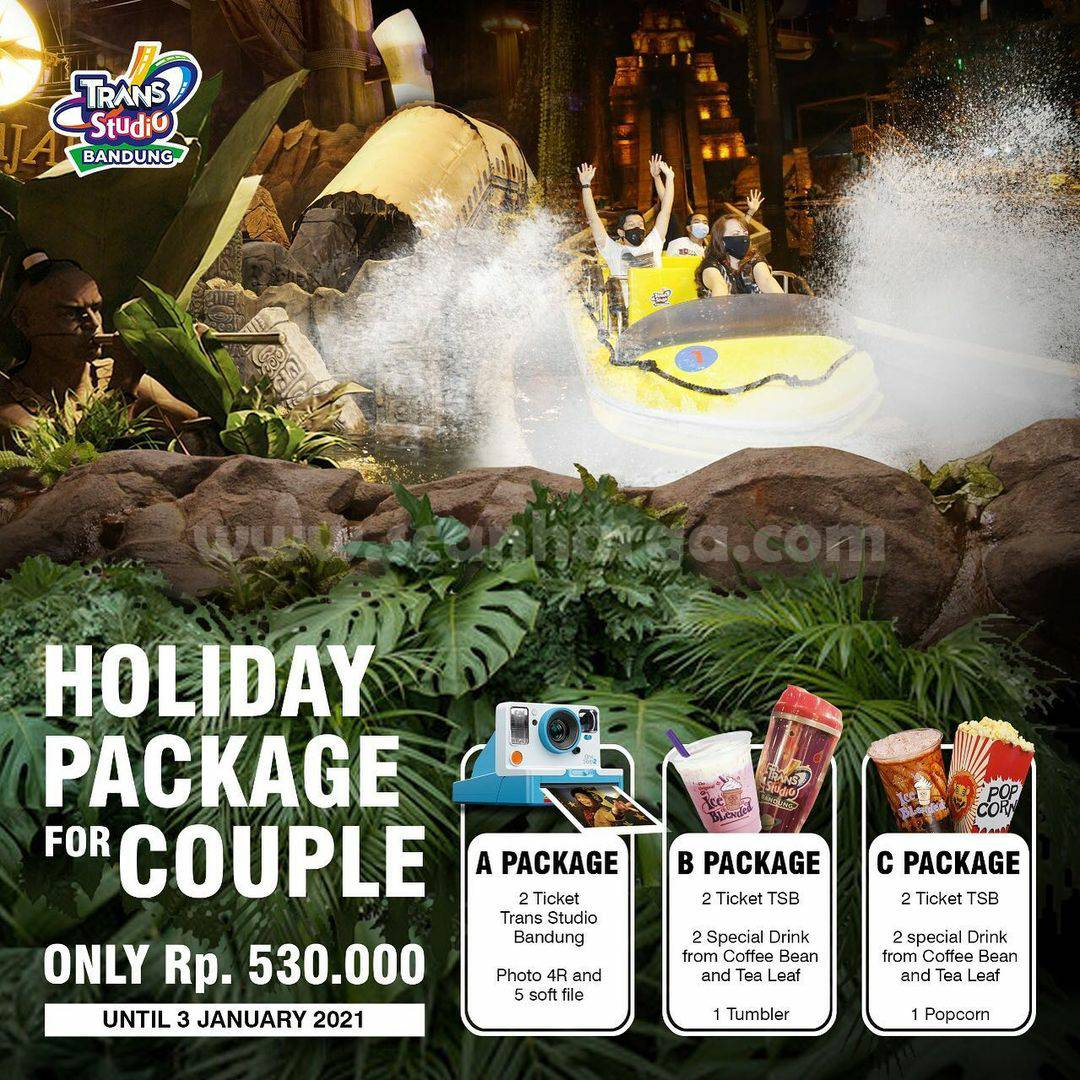 Trans Studio Bandung Promo Holiday Pakcage For Couple Only Rp 530.000