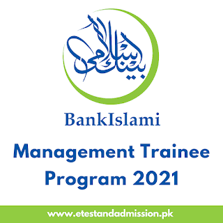 Bank Islami Management Trainee Program 2021