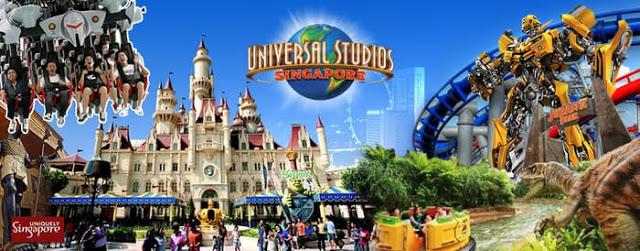 Yuk Jelajahi Universal Studios Singapore, dan Abadikan Momen Serunya!!!
