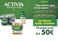 Con Activia vinci la tua Spesa da Crai : 168 buoni spesa da 50 euro ( 12 ogni giorno)