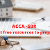 ACCA SBR Best free resources to prepare