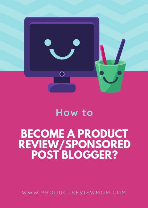 How to Become a Product Review Blogger and Get Sponsored By Brands  via  www.productreviewmom.com