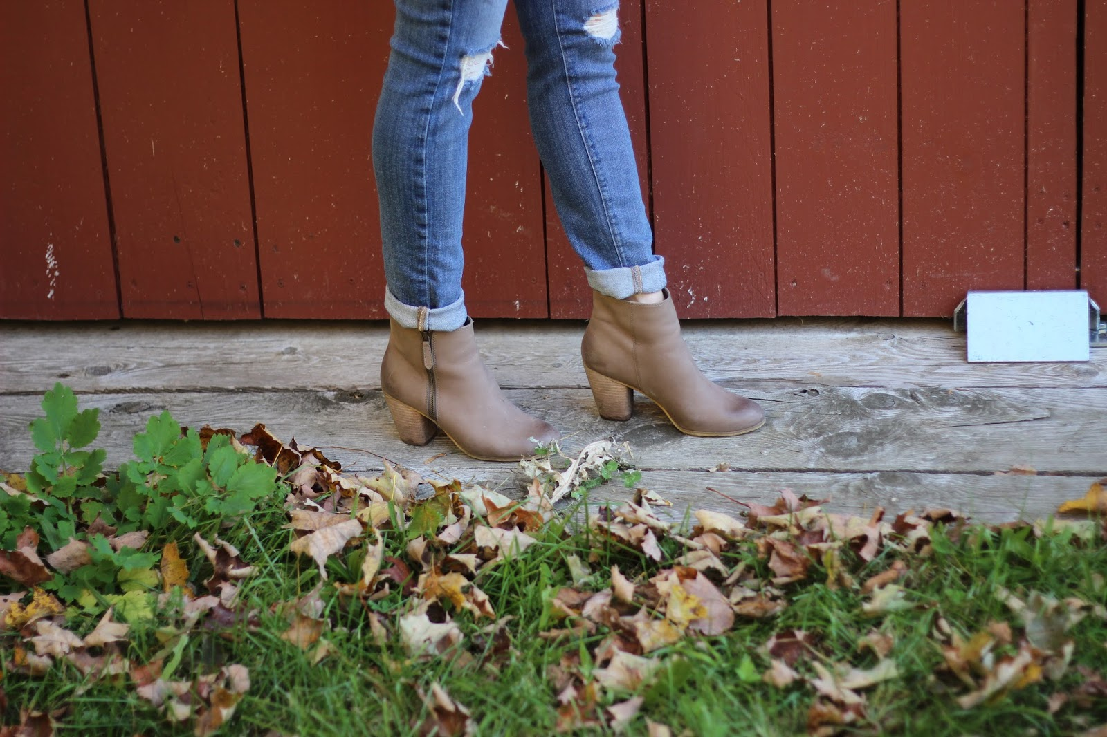 The Neapolitan, Vermont, Fall, Fall Outfit, BP Booties