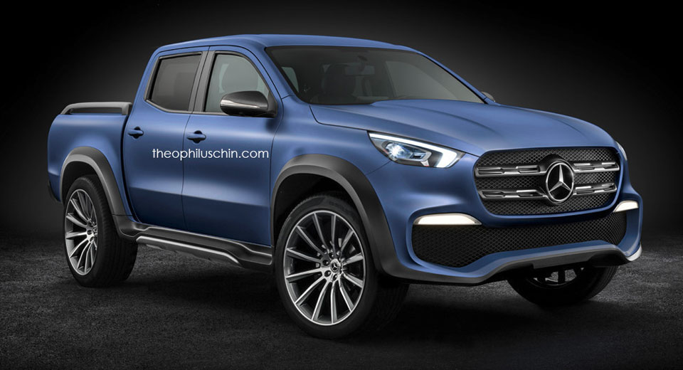 Mercedes-Benz X-Class Looks Set To Rule The Work Site