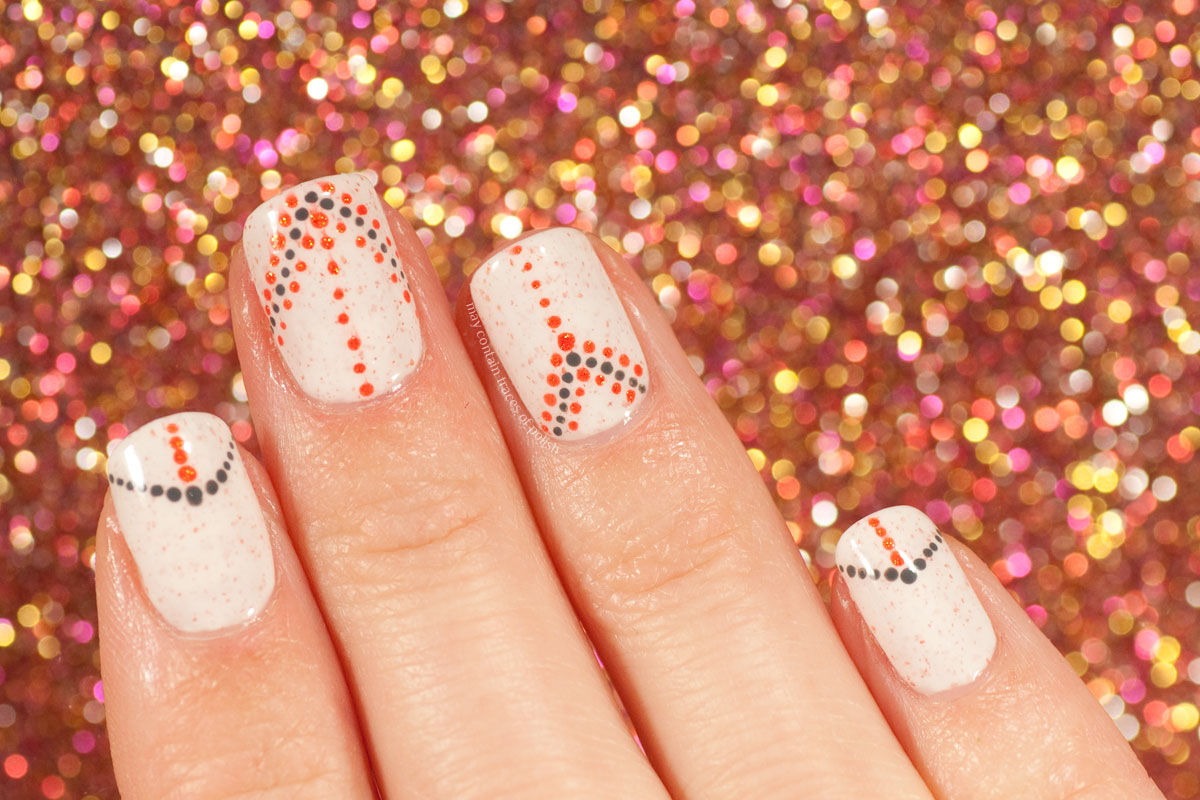 Pahlish Fleur de Sel - Minimalist Dotticure Nail  Art Design