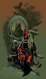 Batman / Hellboy