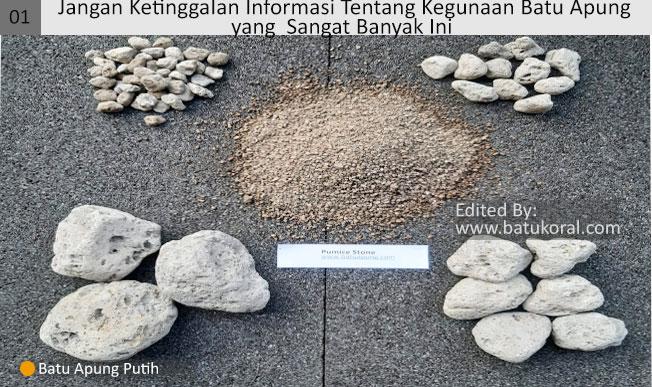 batu apung untuk perawatan