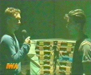 Xtreme Mark a faccia a faccia con Nino Baldan sul ring IWA