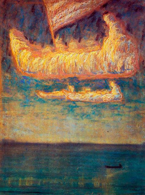 Чюрлёнис Микалоюс Константинас - Мысли. 1907