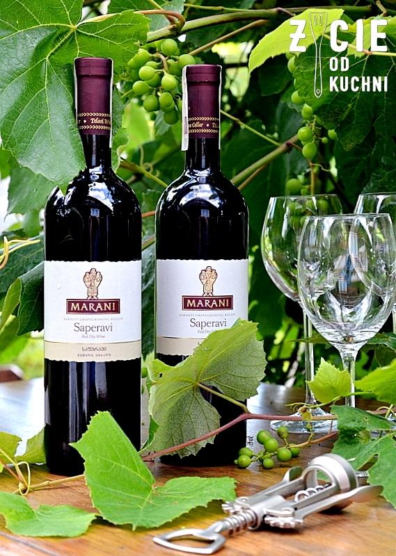 marani, saperavi, marani saperavi, wino gruzinskie, wino do grilla, wino do czerwonego miesa, wino do sera, wytrawne wino, wino czerwone, zycie od kuchni