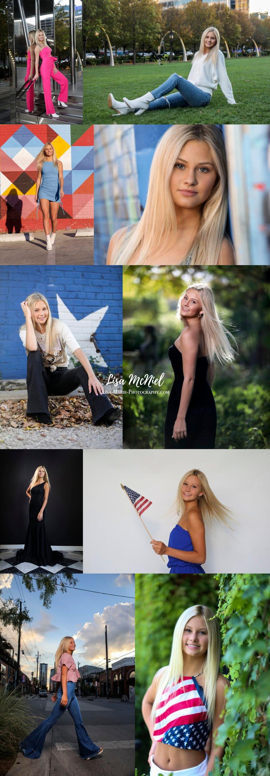Portraits of Teen girl studio and urban