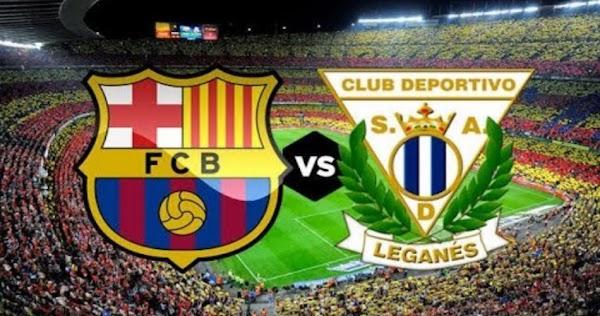 نتيجة مباراة برشلونة وليغانيس بث مباشر لايف 16-6-2020 الدوري الإسباني