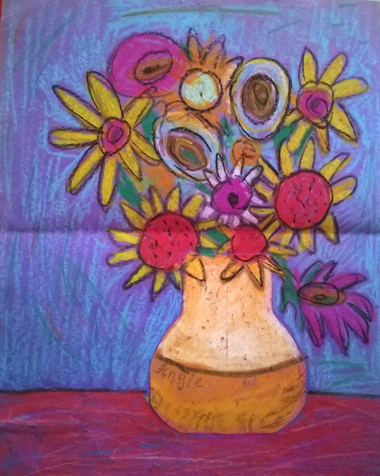 Angie Villa Art Amp Education Example For Van Gogh Lesson