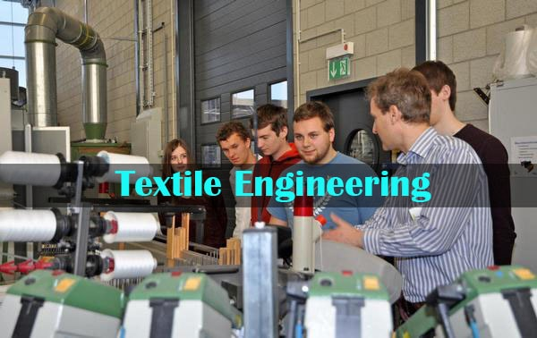 Textile engineering students