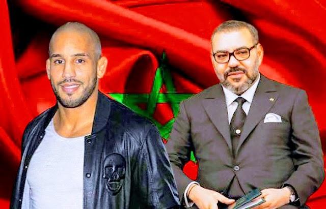 Incomoda en Marruecos la relación del campeón de artes marciales Abu Bakr Azaitar con el rey Mohamed VI