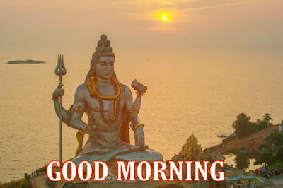 good morning images with god bholenath